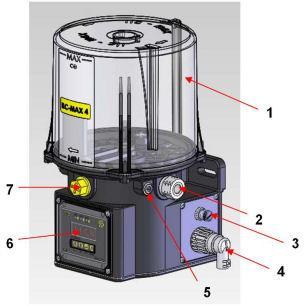 Niesamowite Pompa centralnego smarowania ILC-MAX - Pompy do smaru, pompy HD45